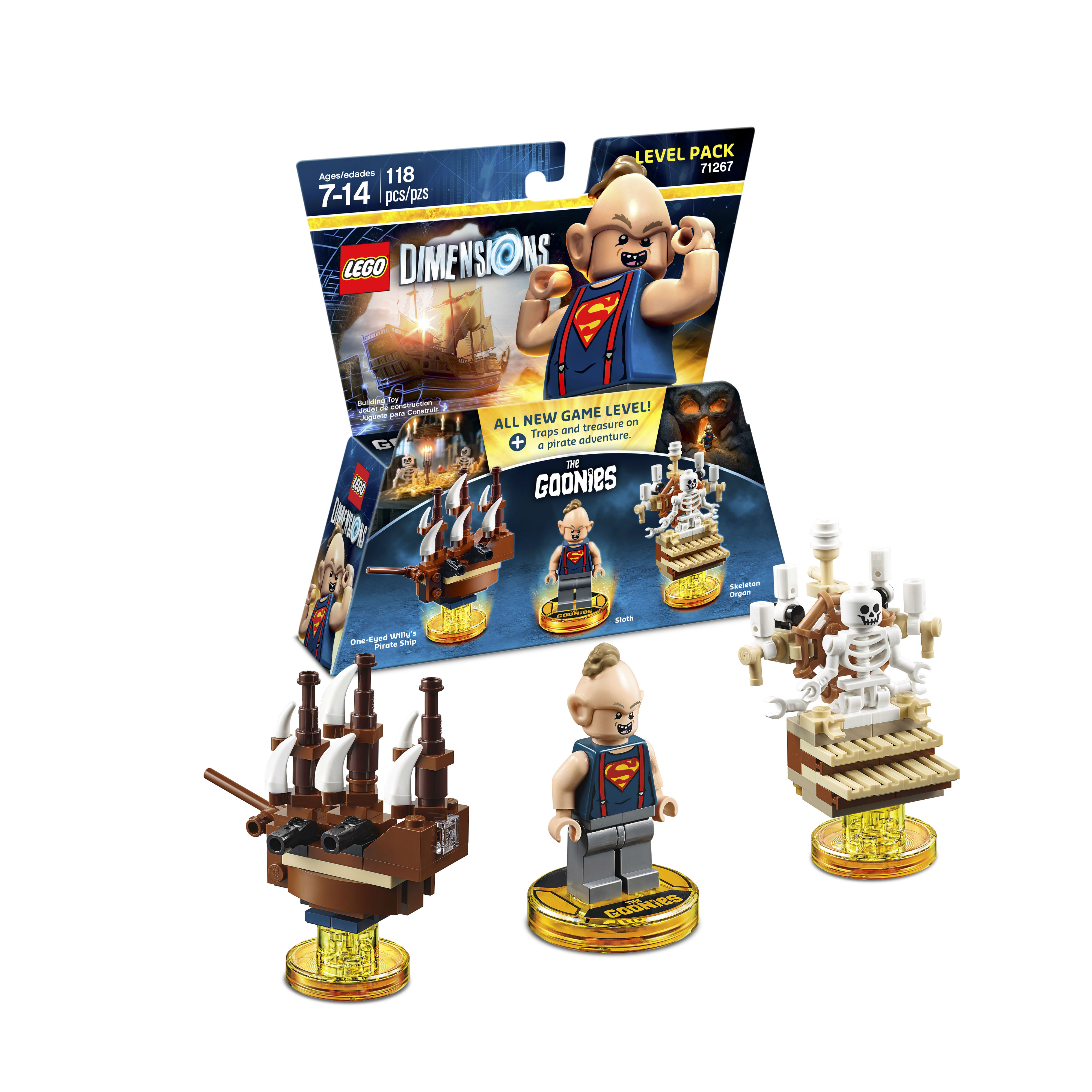 lego dimensions wave 8 revealed! releasing may 9th (images, Skeleton