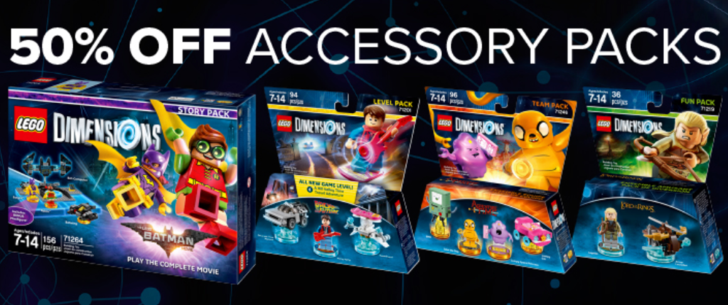 SALE: LEGO Dimensions Packs 50% off at Amazon/GameStop/Best Buy ...