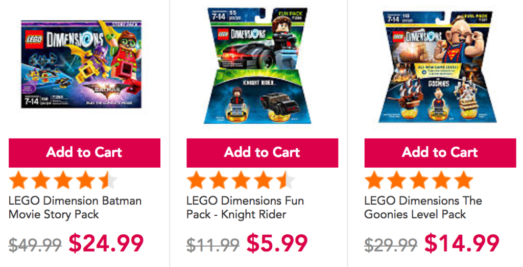DEAL: All LEGO Dimensions packs 50% off at Toys'R'Us, Amazon ...